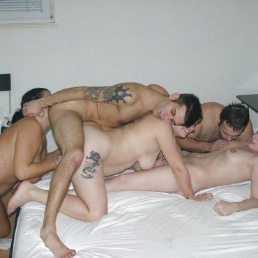 Amateurfick Orgie