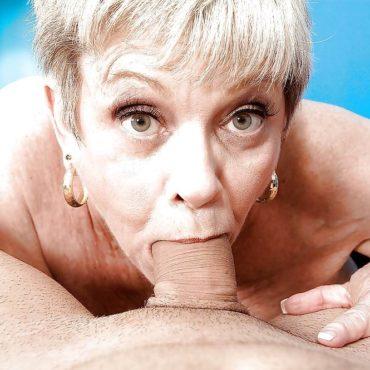 Granny Bilder Blowjob