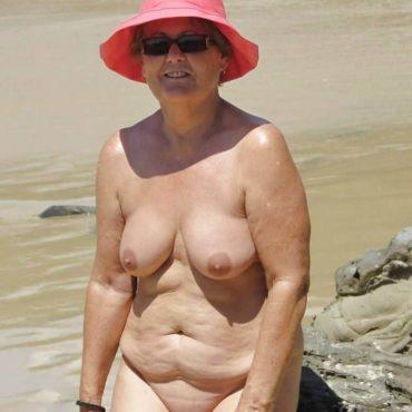 Granny Bilder am Strand