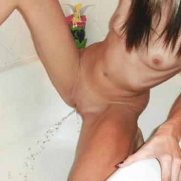 Natursekt Bilder in der Badewanne