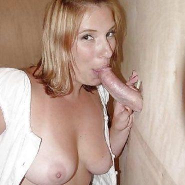 Blonde Glory Hole