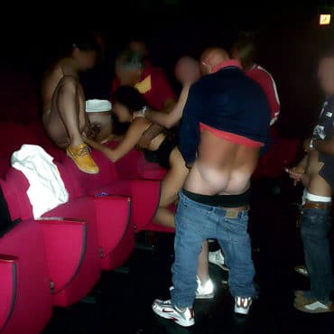 Fickparty Fummeln im Kino