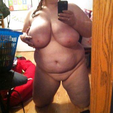 BBW Pics Spiegel Selfie