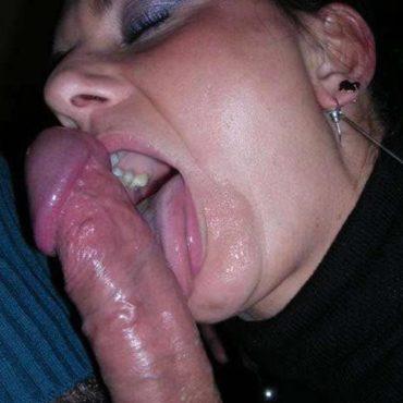 Blasende Frauen lecken