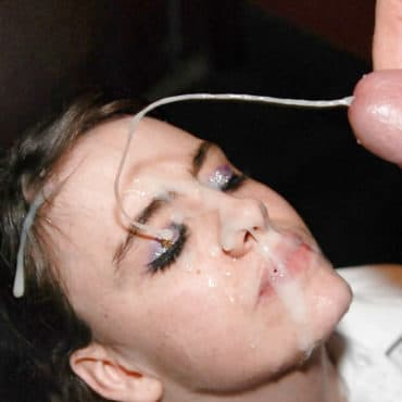 Unfassbare Spermadusche