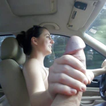 Freund einen runterholen beim fahren