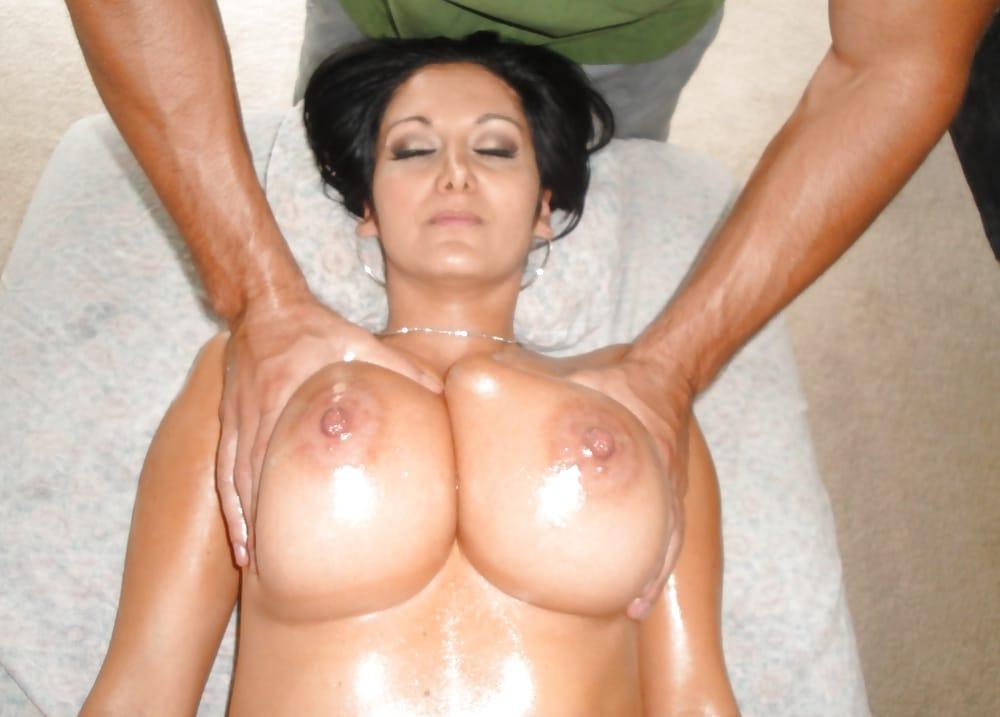 Brüste Kneten
