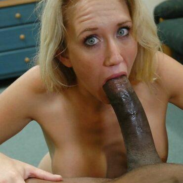Oral Sex schwarzer Schwanz