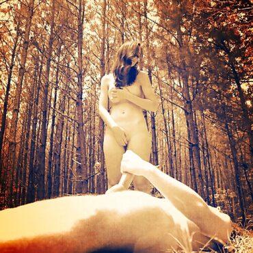 Gemeinsam mastubieren im Wald