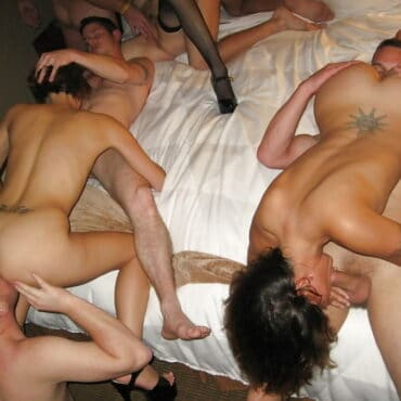 Große Orgie