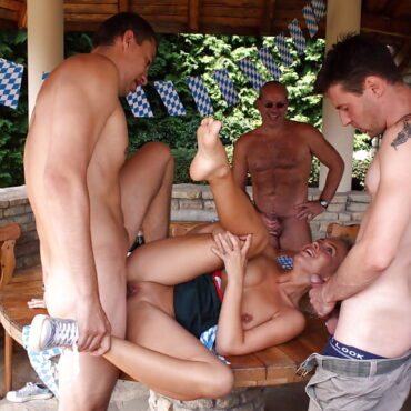 Urlaub Orgie