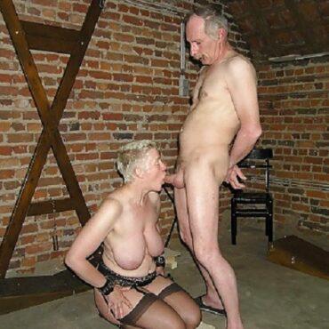 Alt und geil BDSM