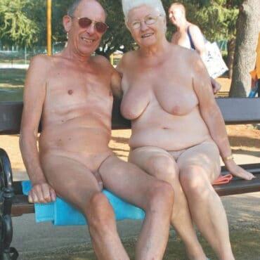 Alt und geil in der Öffentlichkeit