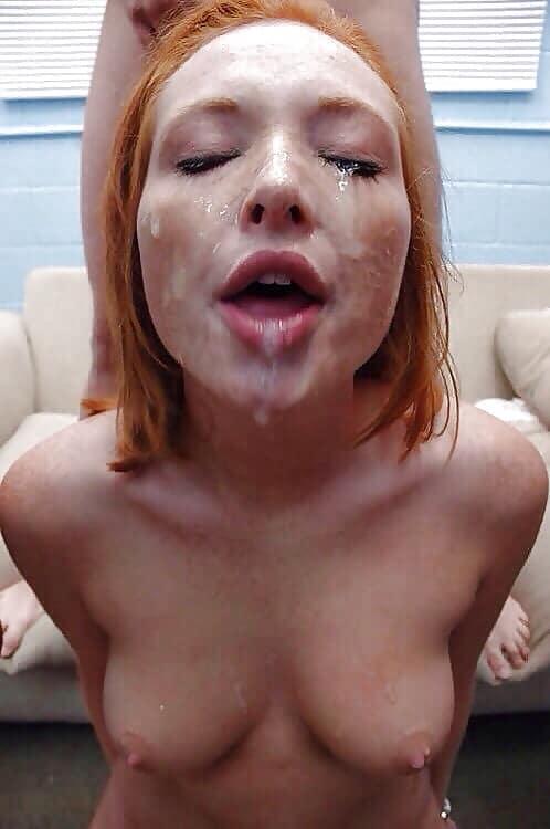Sperma im gesicht bilder Demütigung für