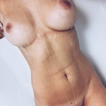 Wichsvorlage am duschen