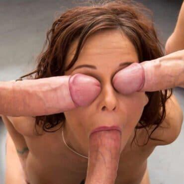 Beim Sex zuschauen Drei Pimmel