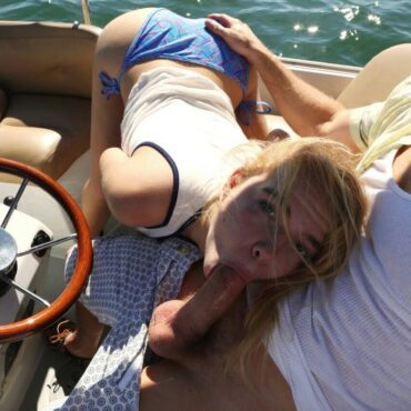 Beim Sex zuschauen auf einem Boot
